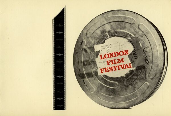 Poster from the 10th London Film Festival - 1966