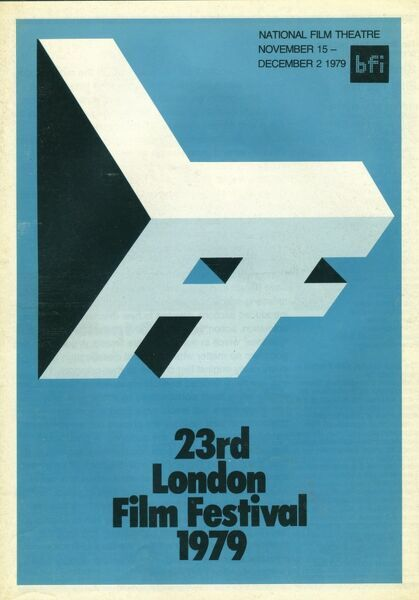 Poster from the 23rd London Film Festival - 1979