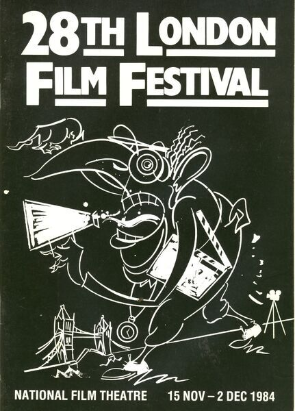 Poster from the 28th London Film Festival - 1984
