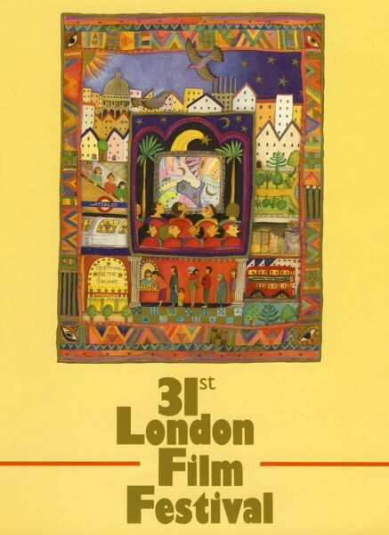 Poster from the 31st London Film Festival - 1987