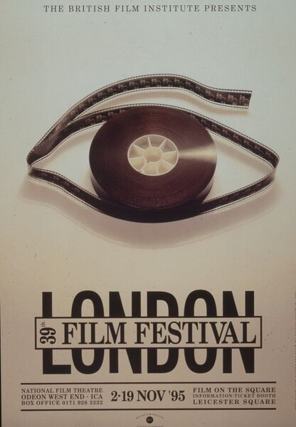 Poster from the 39th London Film Festival - 1995