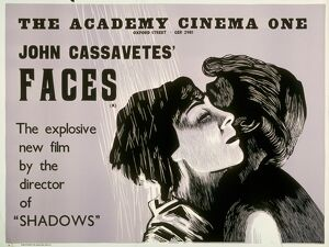 Academy Poster for John Cassavetes' Faces (1968)