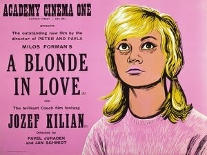 Academy Poster for Milos Forman's A Blonde in Love (1965)