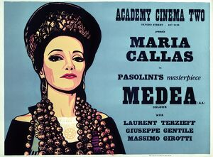 Academy Poster for Pier Paolo Pasolini's Medea (1970)