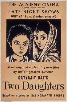 Academy Poster for Satyajit Ray's Two Daughters (1961)