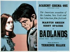 Academy Poster for Terrence Malick's Badlands (1973)