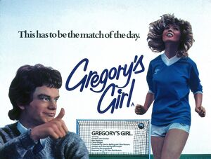 Film Poster for Bill Forsyth's Gregory's Girl (1980)