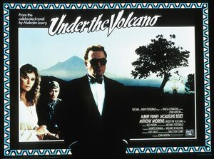 Film Poster for John Huston's Under The Volcano (1984)