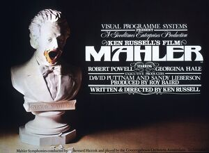 Film Poster for Ken Russell's Mahler (1974)