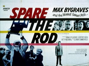 Film Poster for Leslie Norman's Spare the Rod (1961)