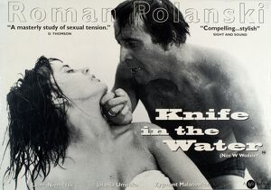 Film Poster for Roman Polanski's Knife in Water (1962)