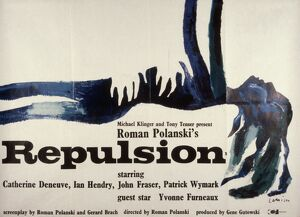 Film Poster for Roman Polanski's Repulsion (1965)