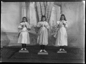 Girls' Calisthenics, 1900