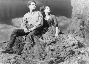 Merle Oberon and Laurence Olivier in William Wyler's Wuthering Heights (1939)