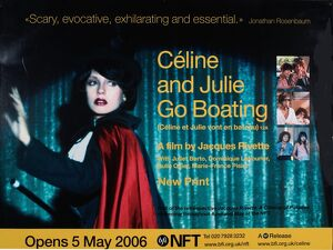 NFT Poster for Jacques Rivette's Celine and Julie Go Boating (1974)