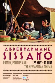 Poster for Abderrahmane Sissako Season at BFI Southbank (29 May - 11 June 2015)