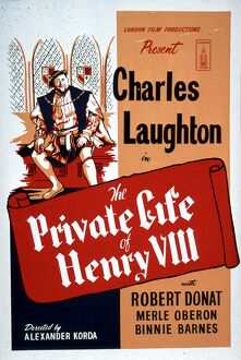 Poster for Alexander Korda's The Private Life of Henry VIII (1933)