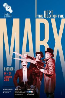 Poster for The Best Of The Marx Brothers at BFI Southbank (14-31 January 2015)