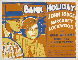 Poster for Carol Reed's Bank Holiday (1938)