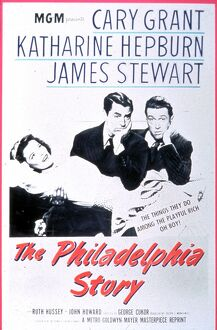 Poster for George Cukor's The Philadelphia Story (1940)
