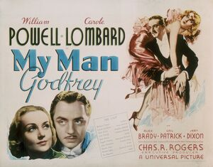 Poster for Gregory La Cava's My Man Godfrey (1936)