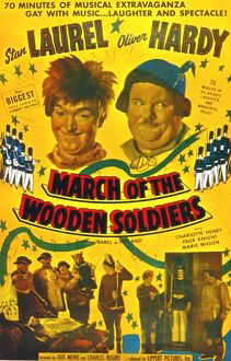 Poster for Gus Meins' March of the Wooden Soldiers (1934)