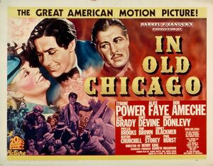 Poster for Henry King's In Old Chicago (1938)