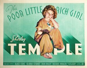 Poster for Irving Cummings' The Poor Little Rich Girl (1936)