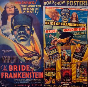 Poster for James Whales' Bride of Frankenstein (1935)