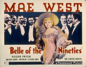Poster for Leo Carey's Belle Of The Nineties (1934)