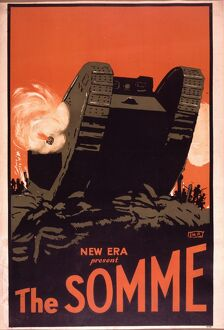 Poster for MA Wetherell's The Somme (1927)