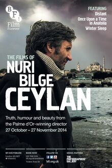 Poster for Nuri Bilge Ceylan Season at BFI Southbank (27 October - 27 November 2014)