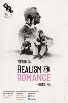 Poster for Realism and Romance Season at BFI Southbank (1 - 31 August 2015)