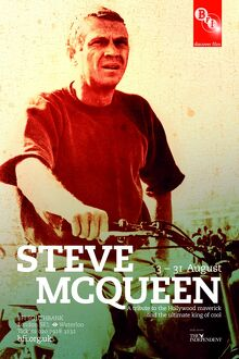 Poster for Steve McQueen Season at BFI Southbank (3 - 31 August 2010)