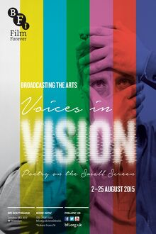 Poster for Voices in Vision Season at BFI Southbank (2 - 25 August 2015)