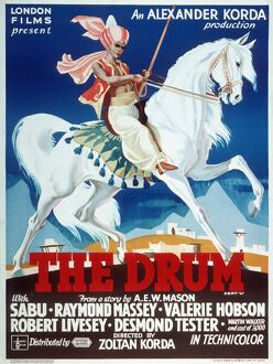 Poster for Zoltan Korda's The Drum (1938)