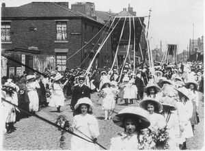 St Joseph's Day, Blackburn, 1911