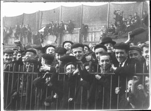 Unidentified Rugby League Supporters, 1901